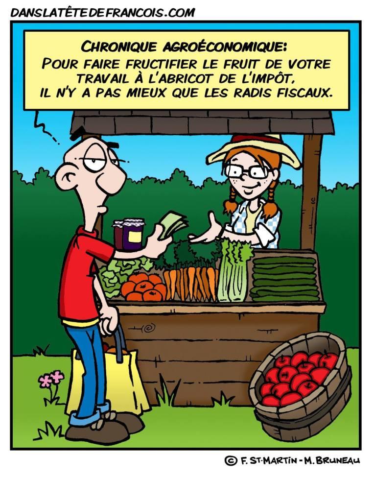 Chronique agroéconomique Les paradis fiscaux Dans la tête de François