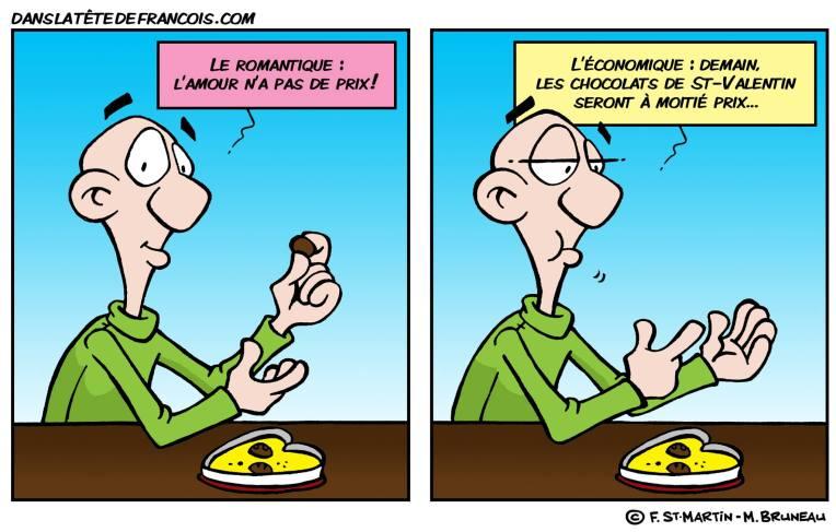 Le romantique et l'économique Dans la tête de François