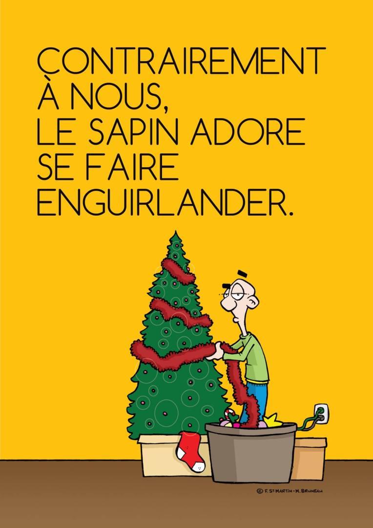 Sapin de Noël Dans la tête de François