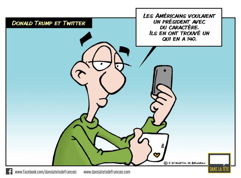 Trump et Twitter