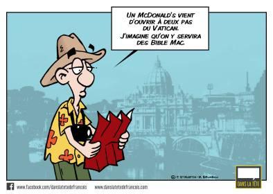 McDo au Vatican