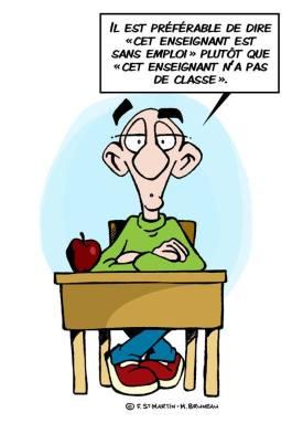 Enseignant sans emploi Dans la tête de François
