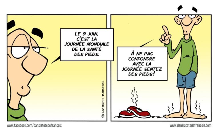 Santé des pieds Dans la tête de François