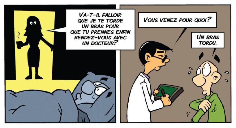 Dans la tête de François chez le docteur