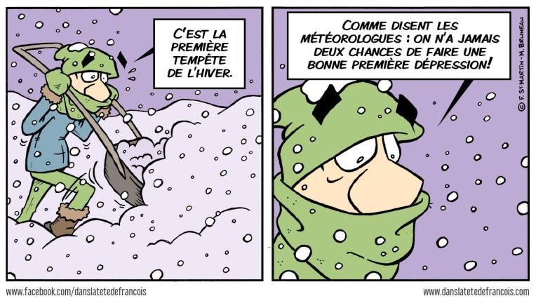 La première tempête dans la tête de François