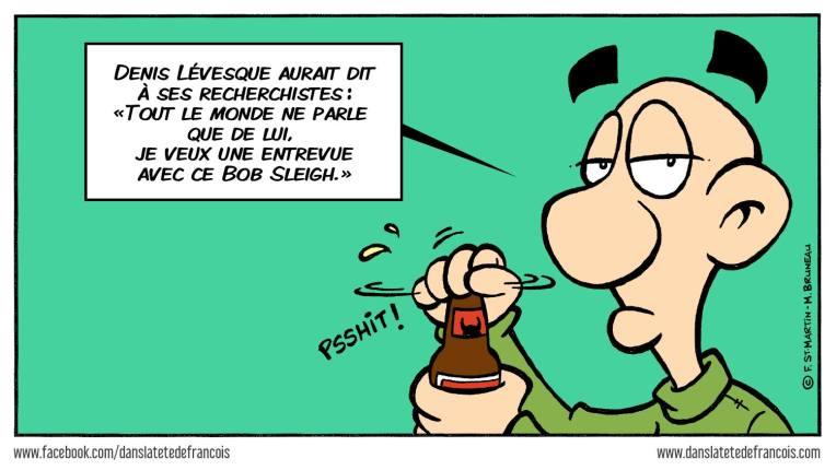 Denis Lévesque et le Bobsleigh