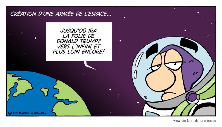L'armée américaine de l'espace