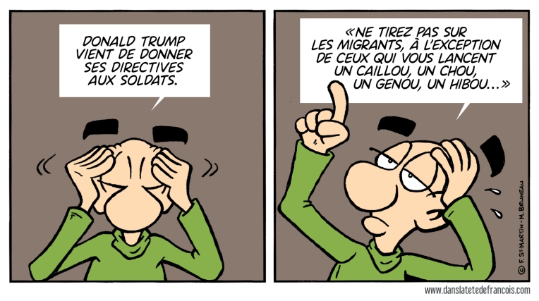 Les migrants et Donald Trump