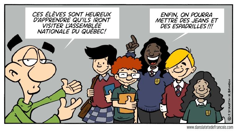 Code vestimentaire & Québec solidaire